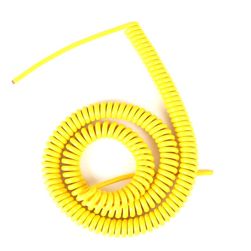 各种规格型号螺旋电缆彩色弹簧线电缆 专业品质 定制生产