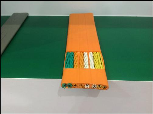 24*0.75YFFBP 扁平防水电缆线 耐寒 耐磨 耐高温电缆24芯0.75平方