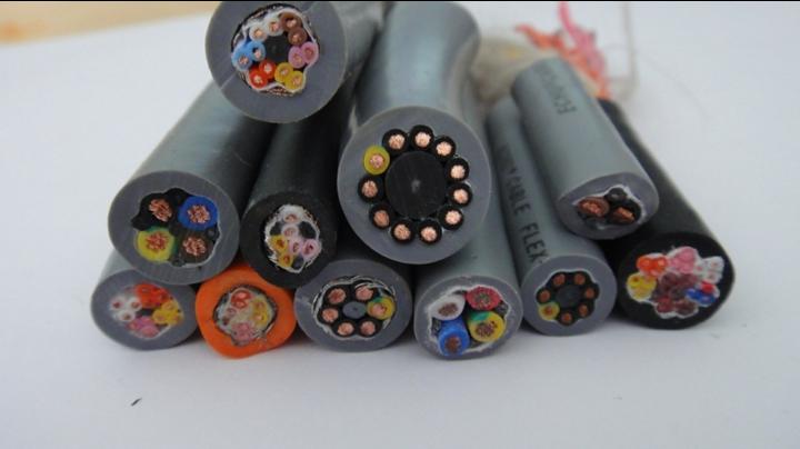 12芯G 0.5平方 高柔性电缆线 耐折弯